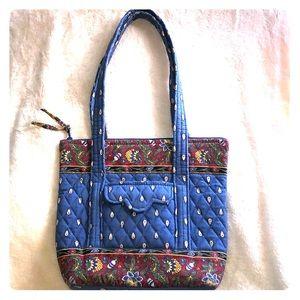Vintage Vera Bradley quilted shoulder bag tote